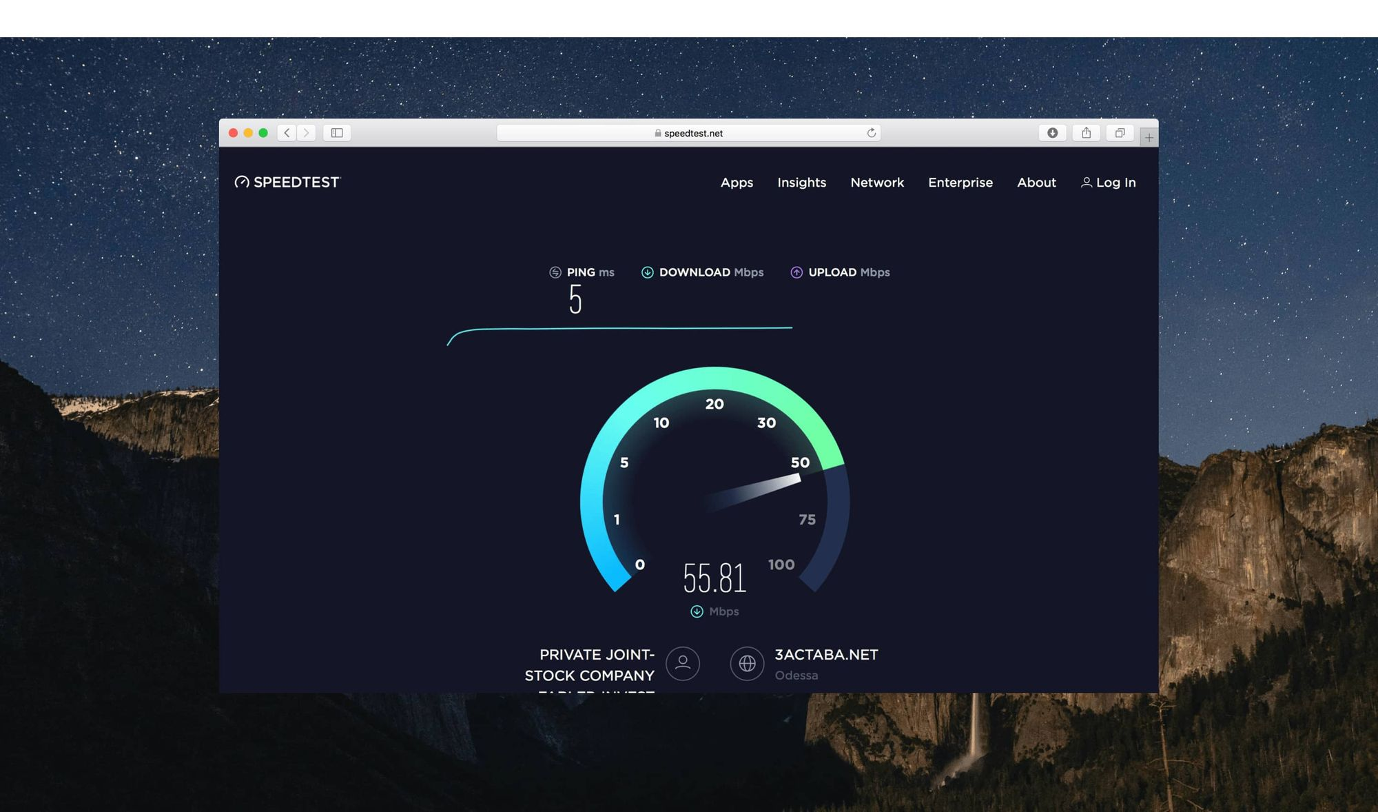 ookla speed test software for pc