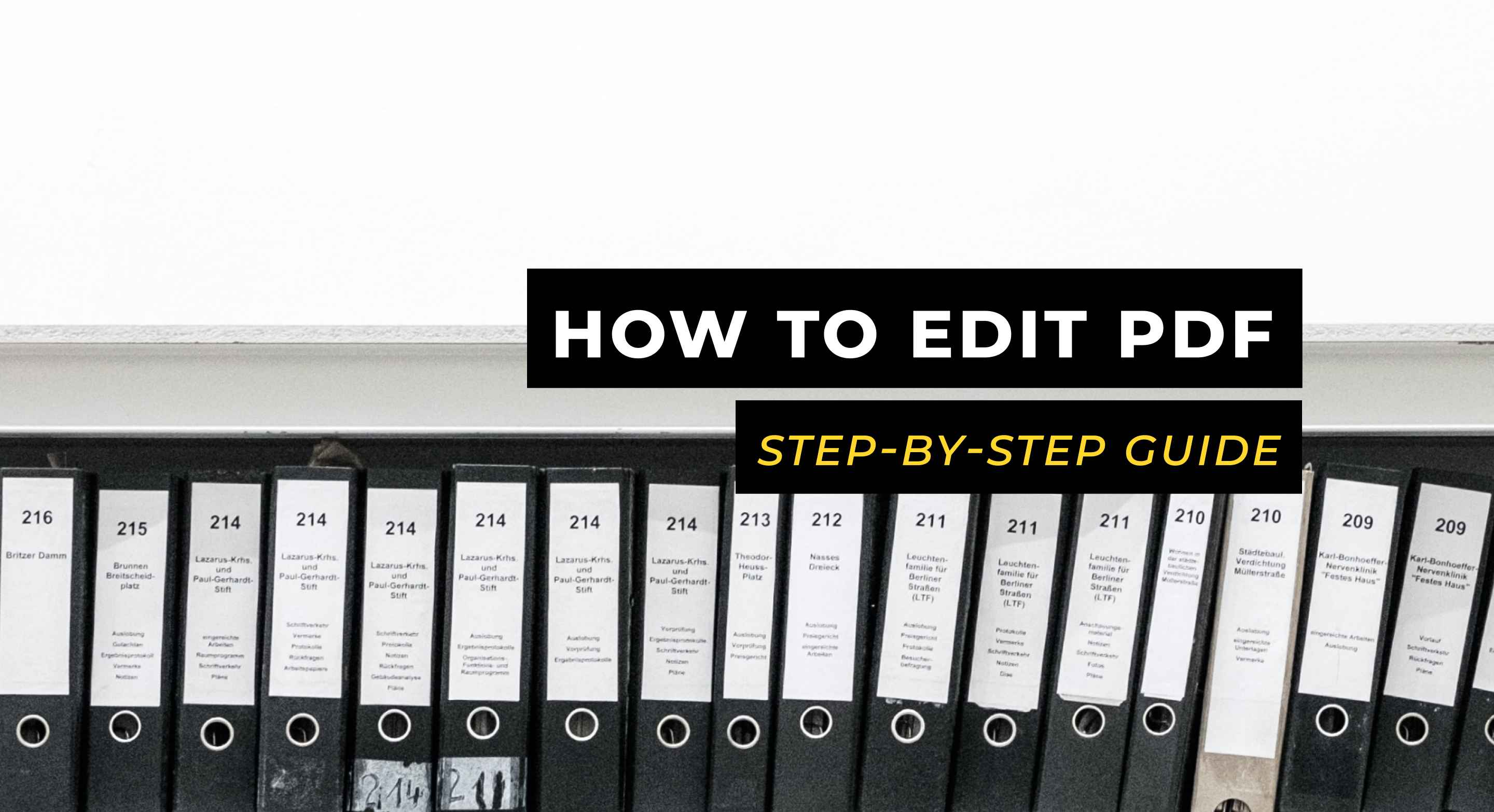 How to Edit PDF – The Only Step-By-Step Guide You'll Need in 2020
